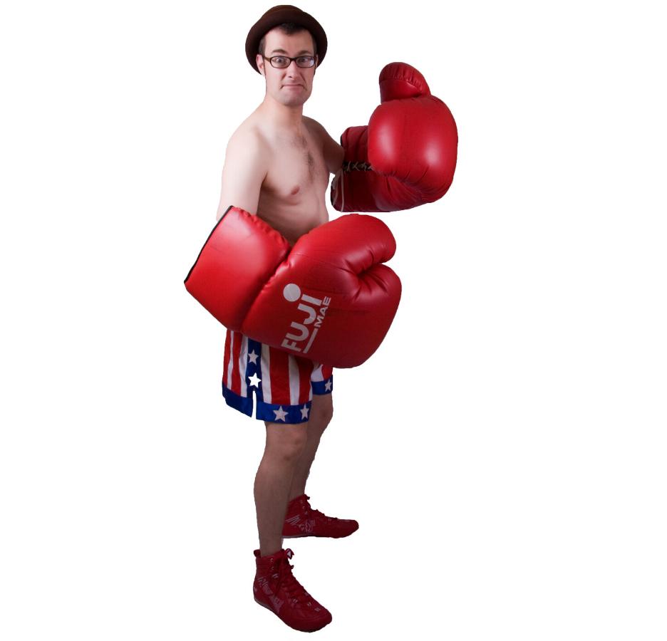 Fraser Hooper Naked Boxing